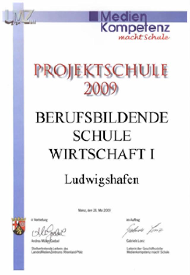 PNG Projektschule_urkunde